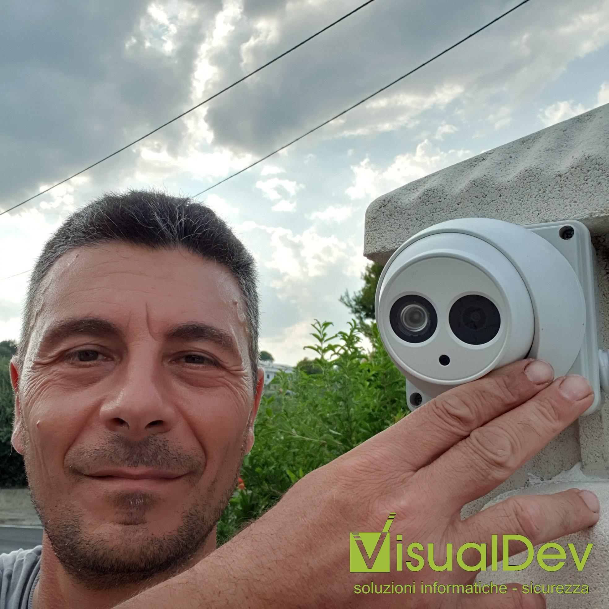 Impianto HDCVI 4Mpx