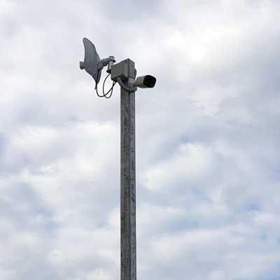 telecamera ponte radio wifi