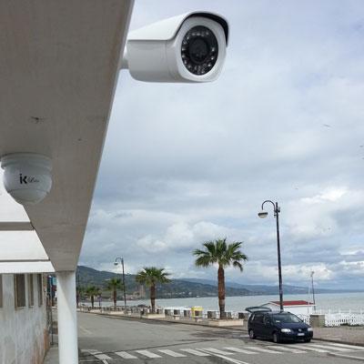 telecamera videosorveglianza cittadina
