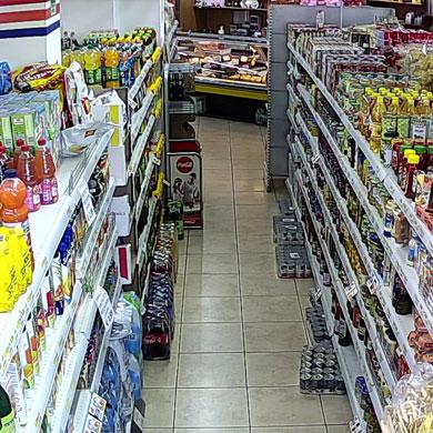 telecamere supermarket